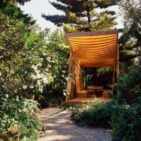 Charmant Creative Small Garden Pavilion Outdoor Design