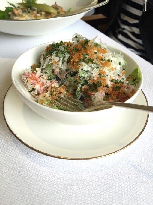 Lobster Caesar Salad