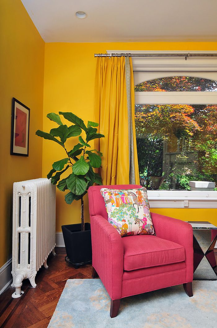 Que Cortinas Poner Con Paredes Amarillas 15 Modelos Y Colores Mil Ideas De Decoracion Paredes Amarillas Colores De Decoracion Para El Hogar Cortinas Amarillos