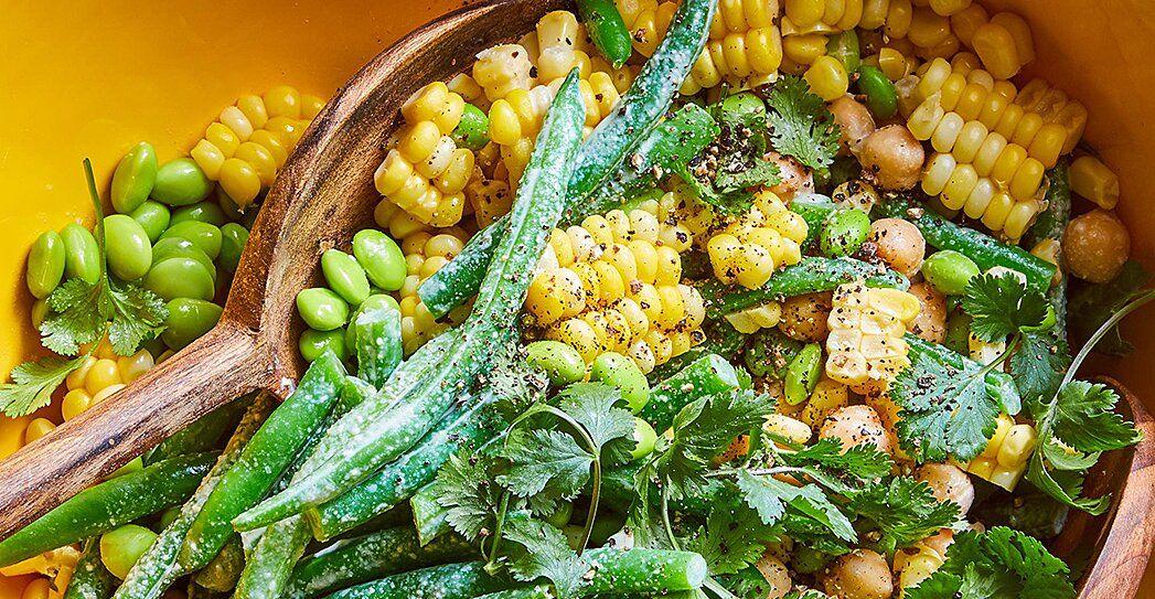 Three Bean Salad Recipe With Lime Juice