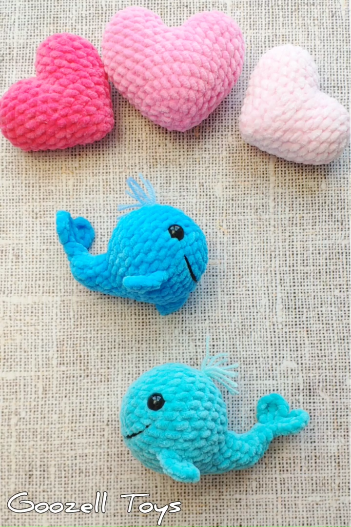 Photo of Crochet Whale pattern. Easy amigurumi toys pattern. Crochet Dolphin pattern. Amigurumi Sea creature