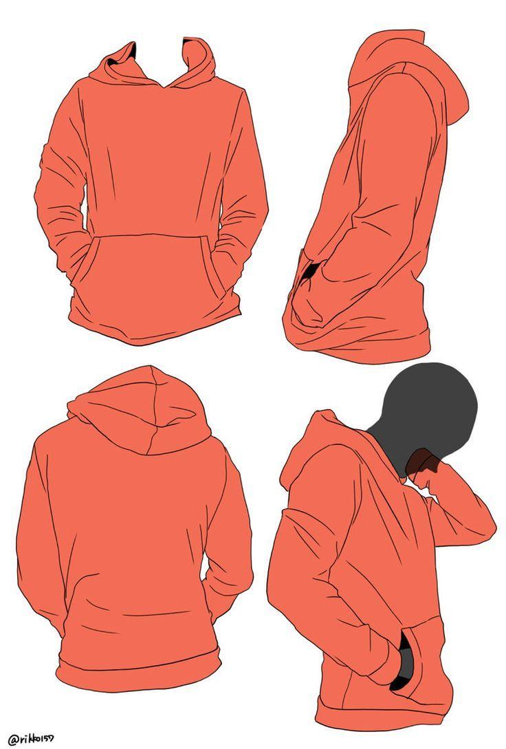24++ Anime girl hoodie drawing easy trends