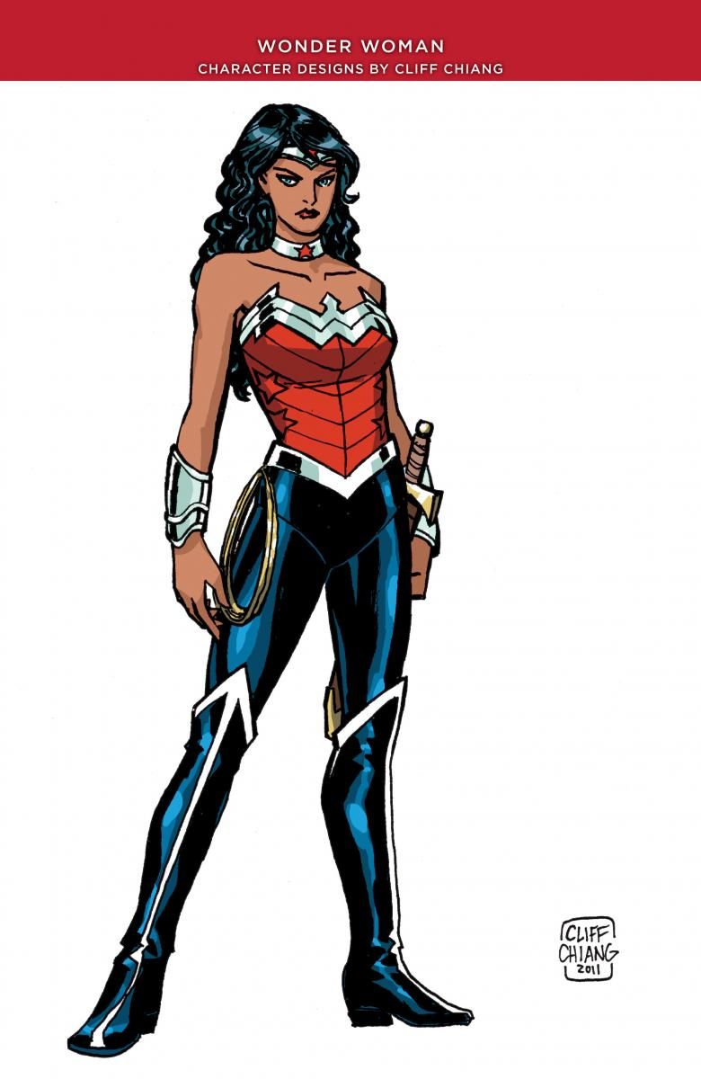 New 52 pants Wonder Woman | The Many Faces of Wonder Woman ...