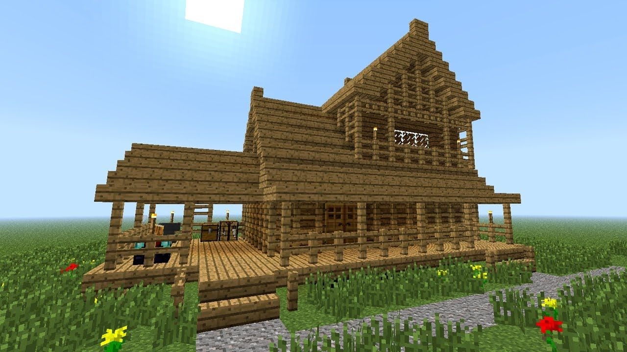 Cool House Floor Plans Minecraft