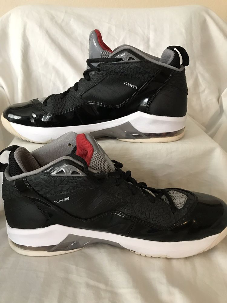 cf9b79379cb415 Nike Air Jordan Melo M8 Advance Blk Red sz  13 Basketball Shoes  fashion
