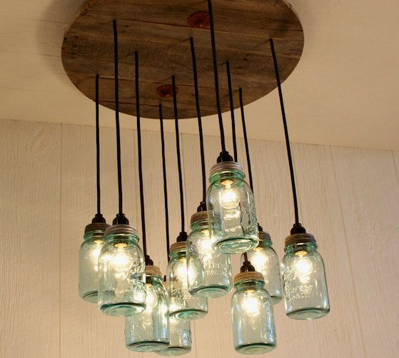 Rustic modern reclaimed wood chandeliers the alternative consumer