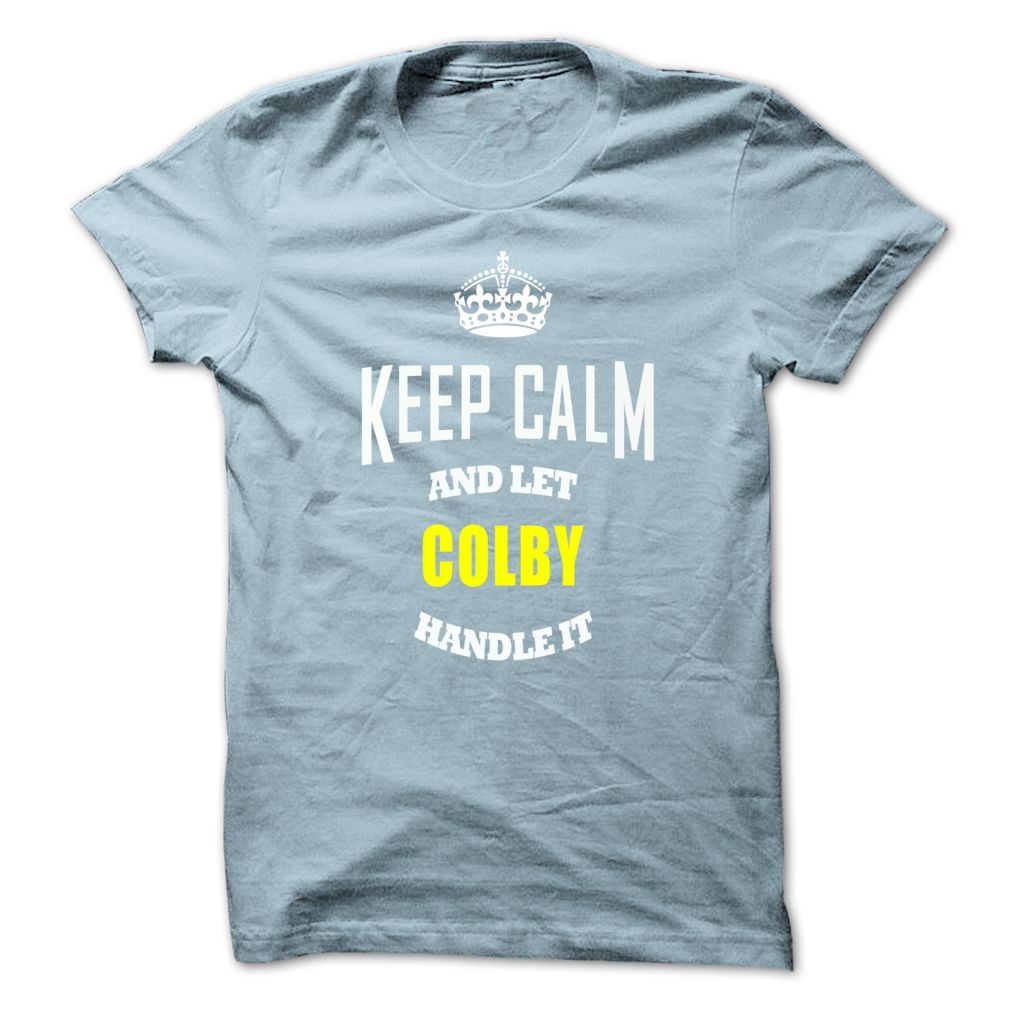 Tshirt Amazing Tshirt Keep Caml And Let Colby Handle It Discount