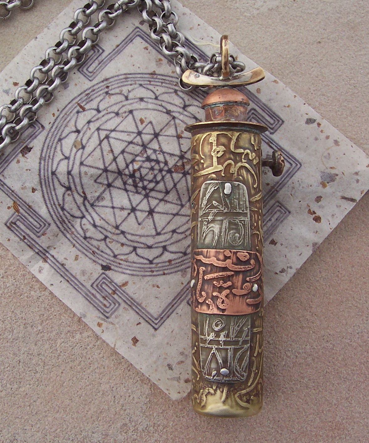 Yantra Pendant Lesley S Beautiful Jewelry Is Available