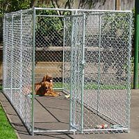 Lucky Dog Chain Link Kennel 15 L X 5 W 6 H Sam S Club