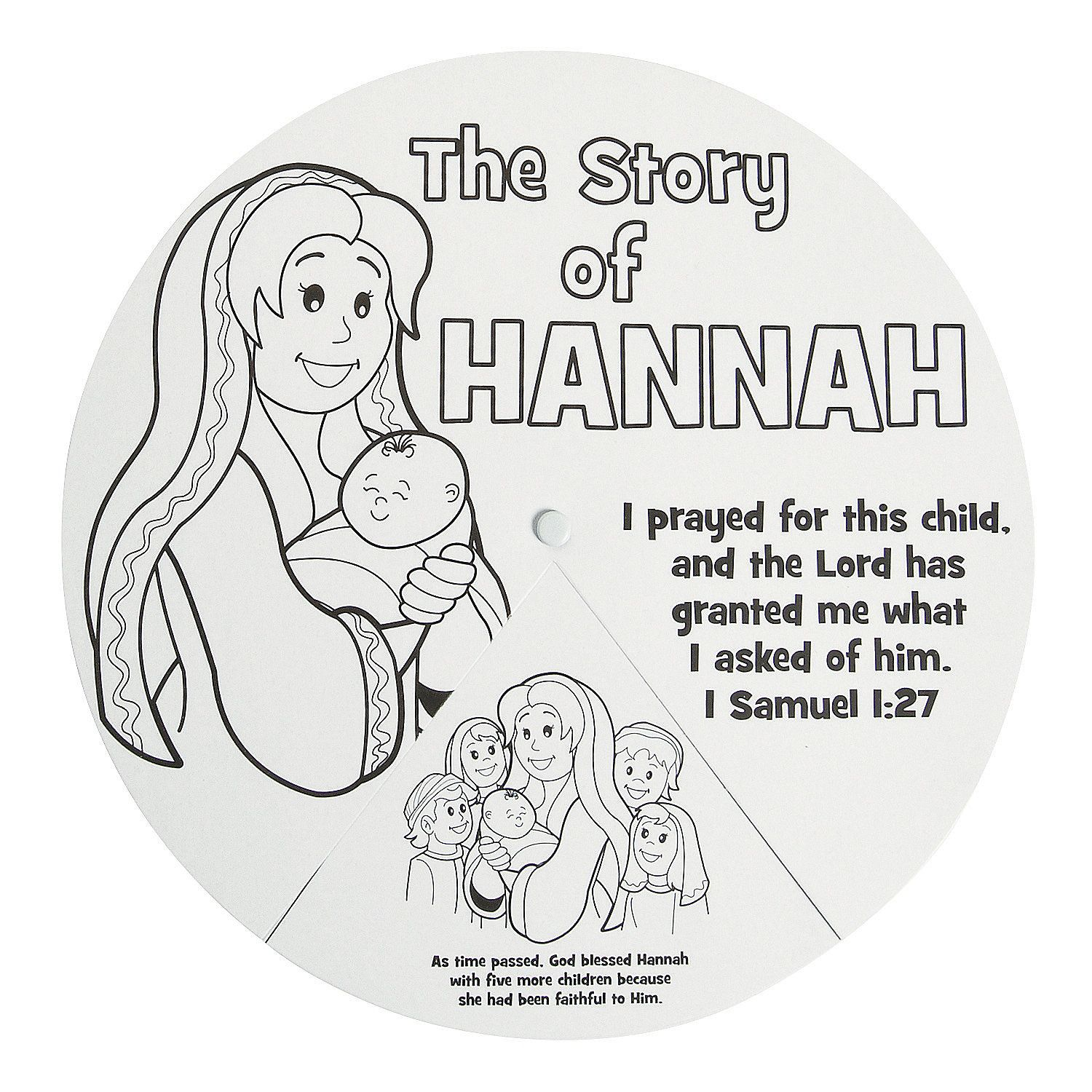 Color Your Own Story of Hannah