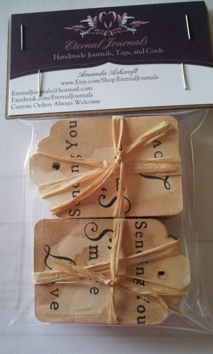 100 Hand Stamped Tags. Hand Stained. SENDING YOU S'more LOVE. Smores. Smore. Wedding Tags. Vintage Wedding. Wedding Favors. Candy Wedding.. $25.50, via Etsy.