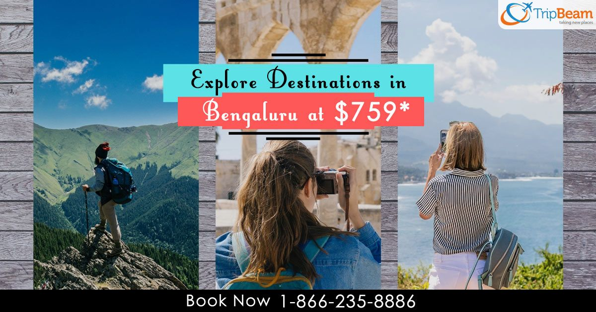 Explore different locations in and around #Bengaluru with budget-friendly flight #deals. Book your flight now with #Tripbeam.   For more information: Contact us at: 1-866-235-8886 (Toll-Free).  #Travel #readytofly #cheapflightstoBengaluru #cheapflightstoBangalore #cheapflights #flightdeals #budgettravelers #onlineflightbooking #cheapestairfare #tourism #destination #vacation #luxury #flightoffers