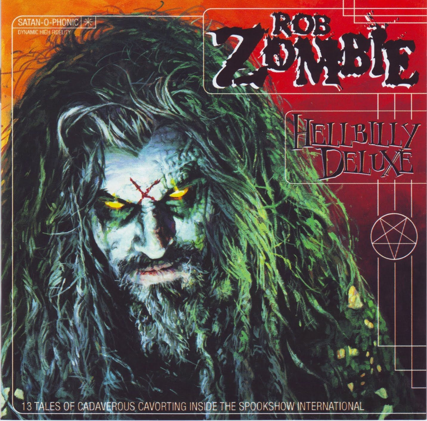 Rob Zombie Hillbilly Deluxe First Album I Ve Ever Bought With My Own Hard Earned Money Bought It When I Was 15 And Rob Zombie Good Music Zombie