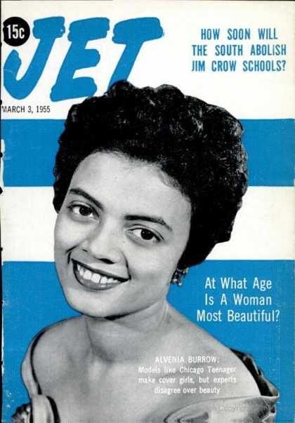 Jet March 3 1955 Jet Magazine Ebony Magazine Cover Magazine