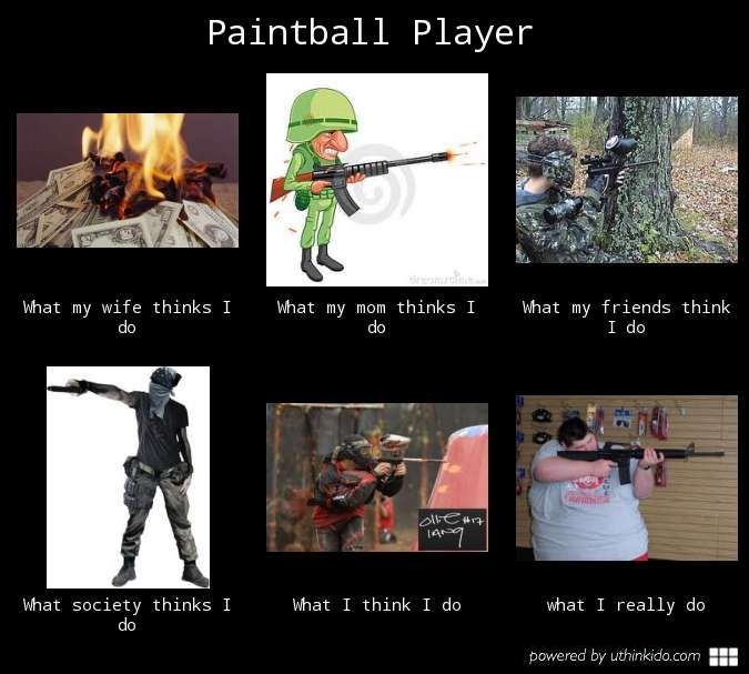 Wmftid Paintball player