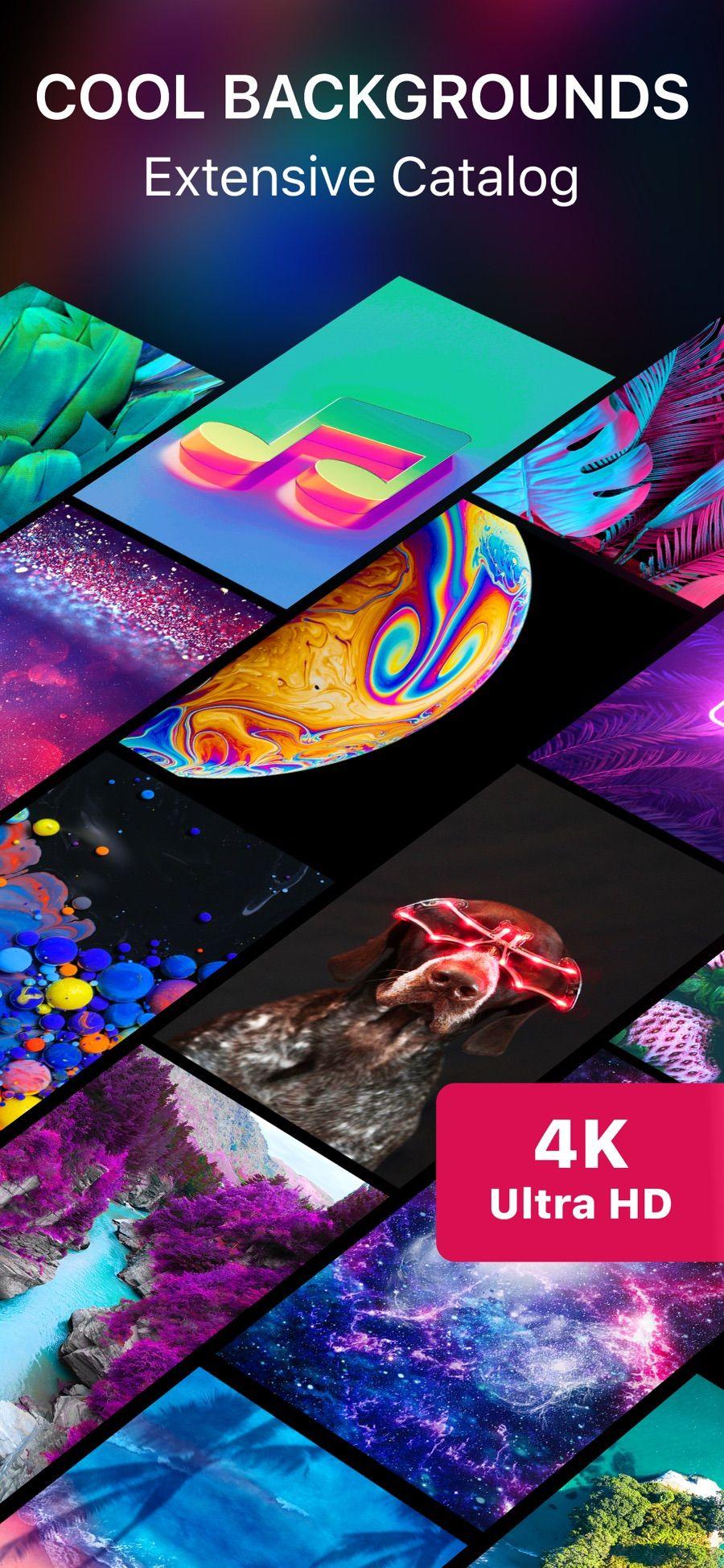 Live Wallpaper 4K on the App Store en 2020 Skate fondos