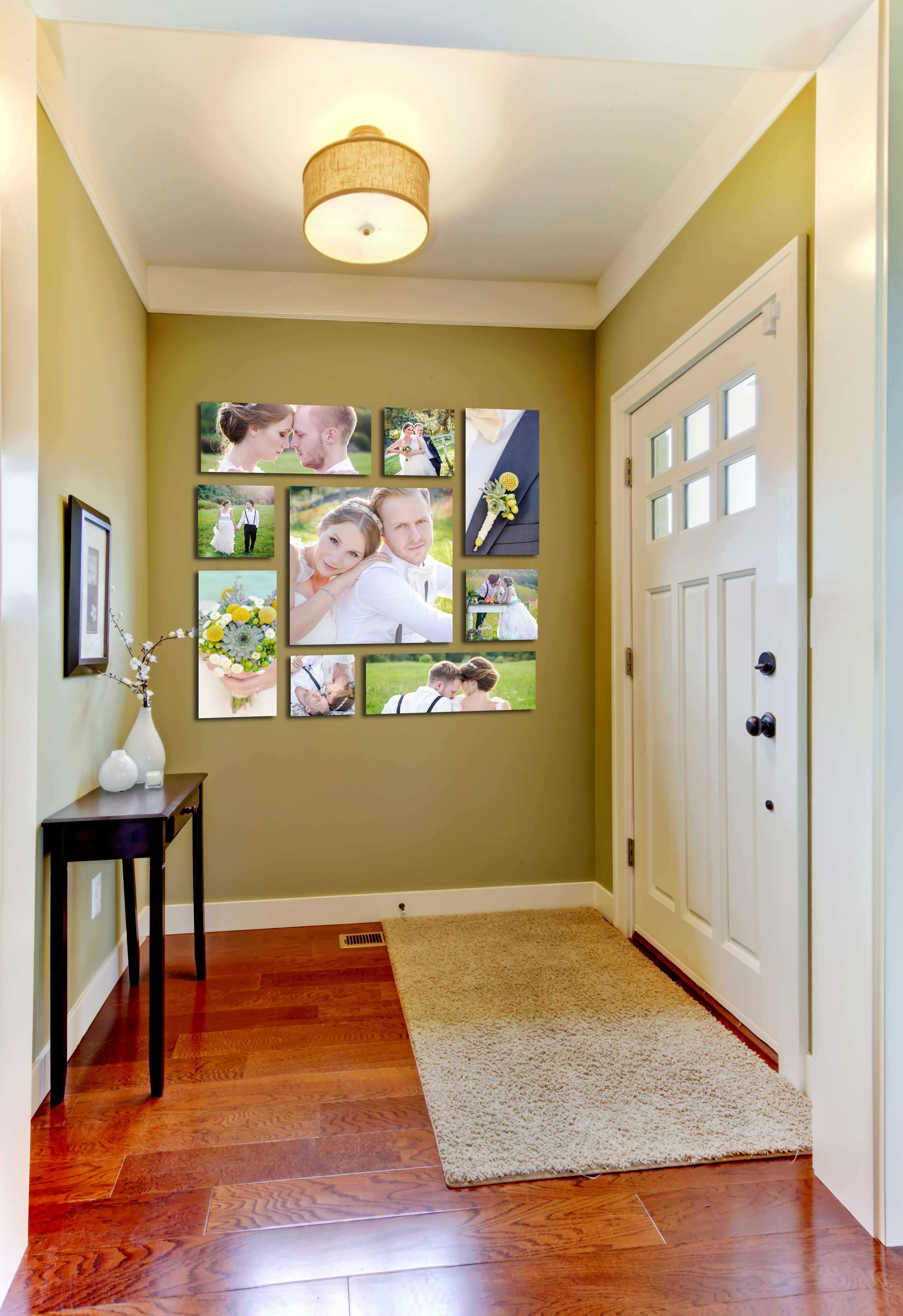 Brighten their entry with our rivera canvas grouping comprised of