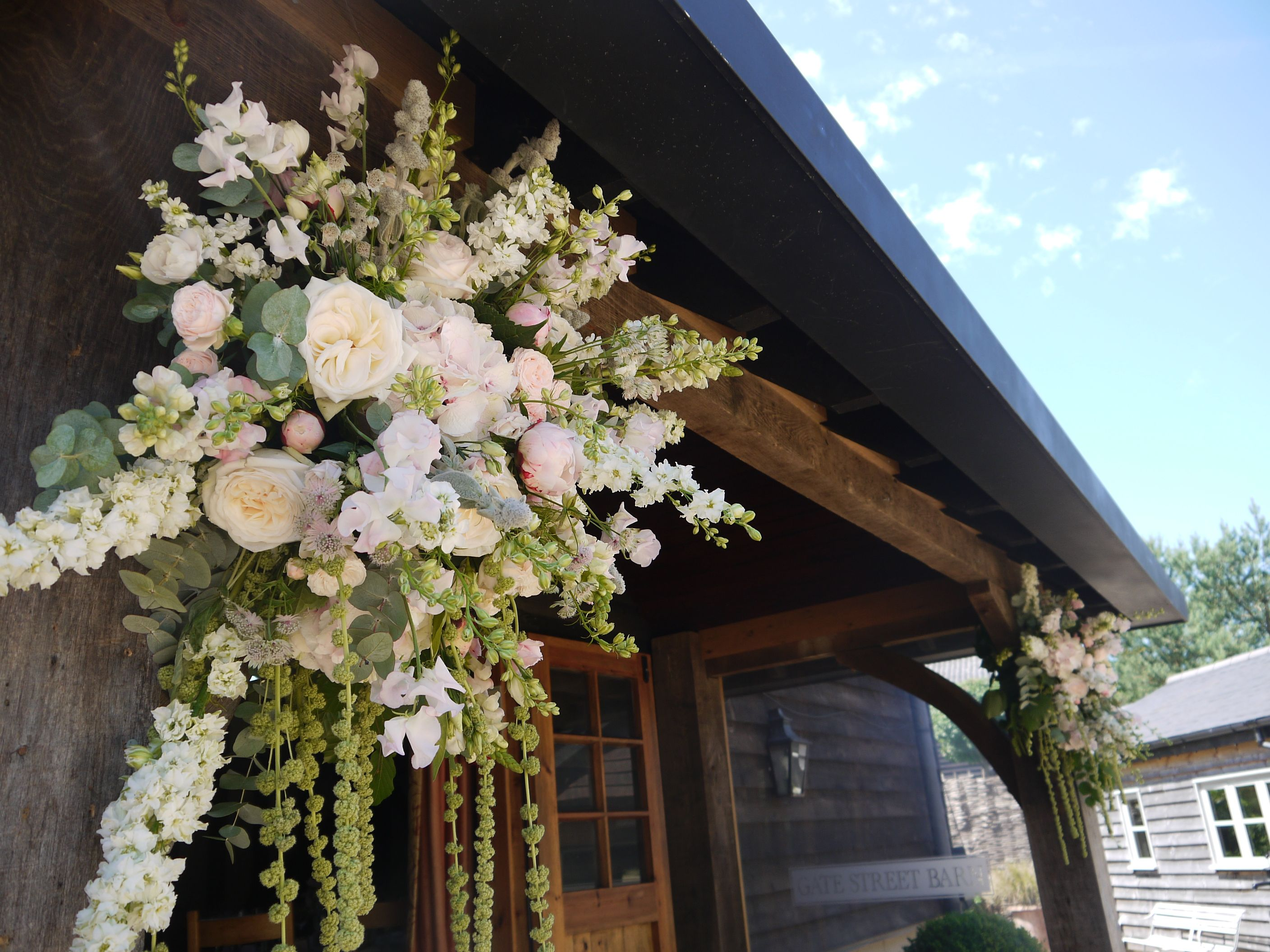 A lovely bunch of hanging flowers @GateStreetBarn