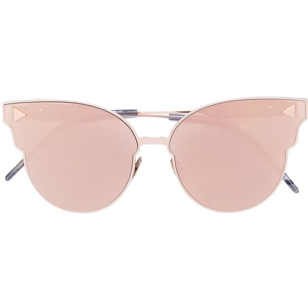 84897467b1 So.Ya Cipriana sunglasses found on Polyvore featuring accessories ...