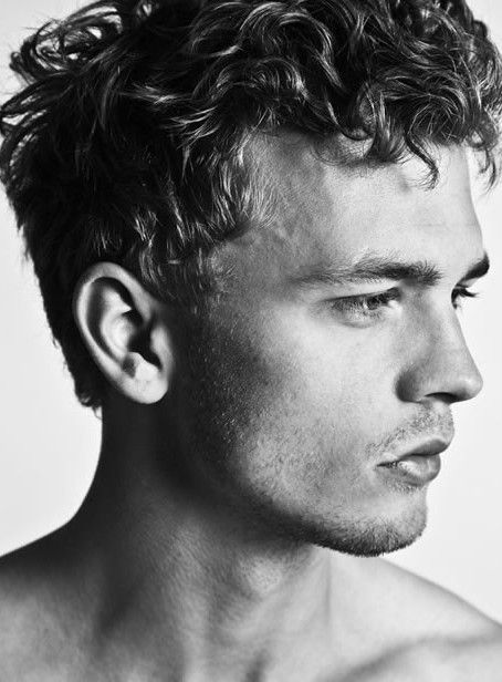 Short Curly Hairstyles For Men Unique Pindana Rae On Curl Hairdo  Pinterest  Short Wavy Hairstyles