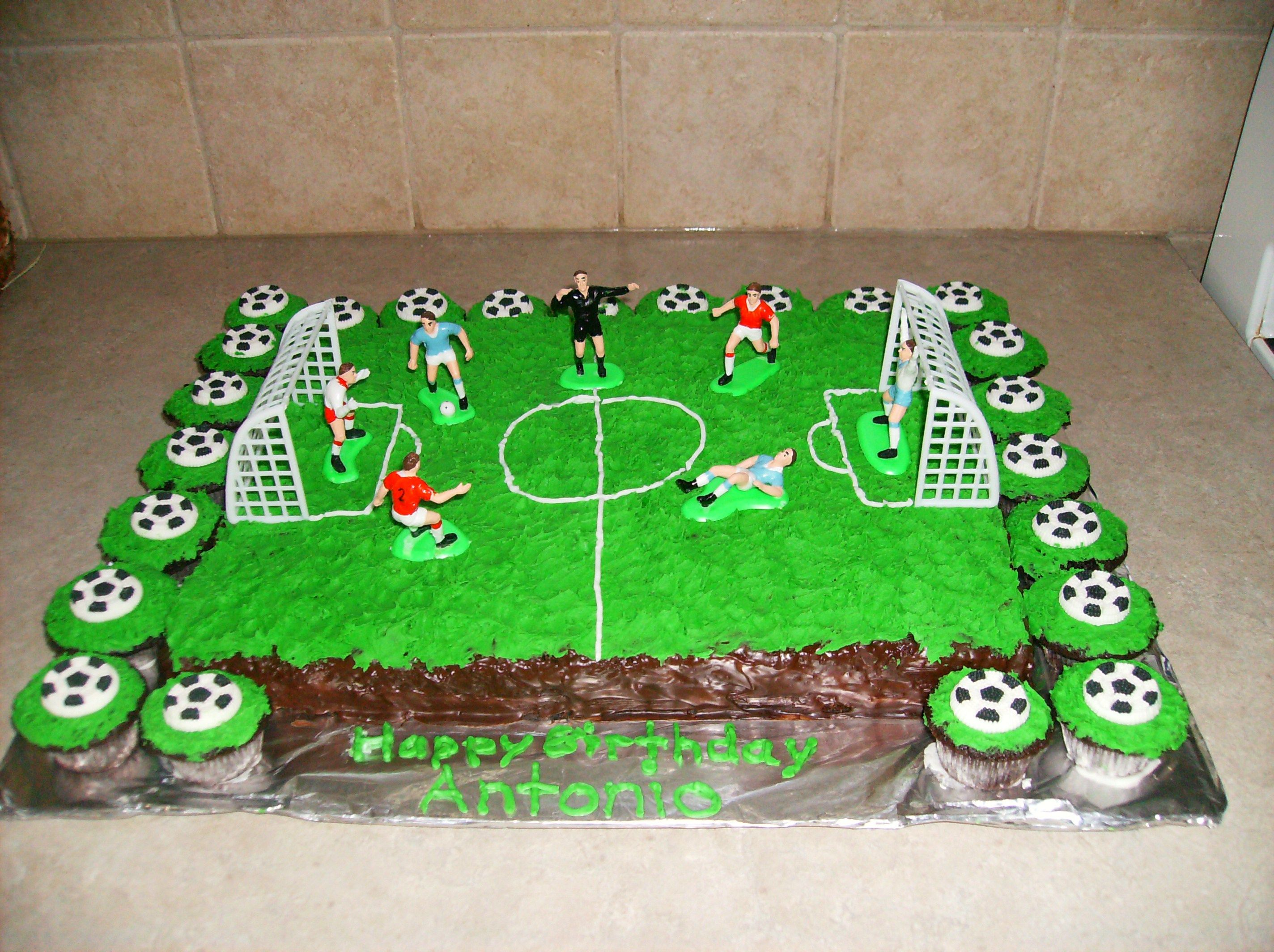 21 Excellent Image Of Soccer Birthday Cakes Birijus Com Soccer Birthday Cakes Soccer Birthday Soccer Birthday Parties