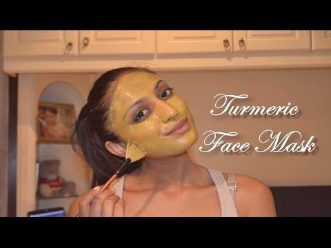 DIY Turmeric Aloe Vera Face Mask glowing, acne free, dark ...