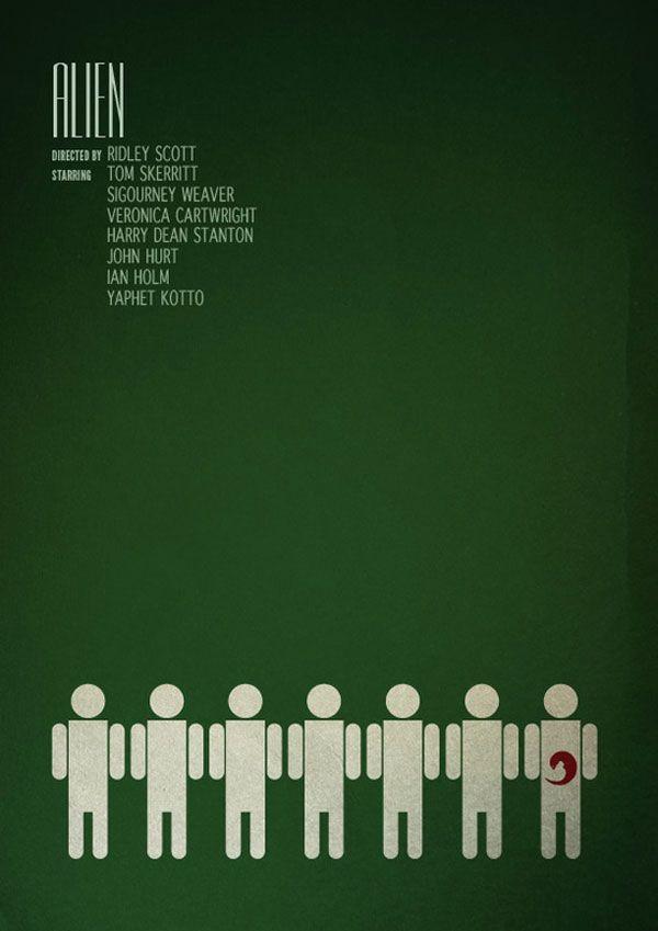 Alien - Movie poster tribute by SamMarkiewicz.dev...