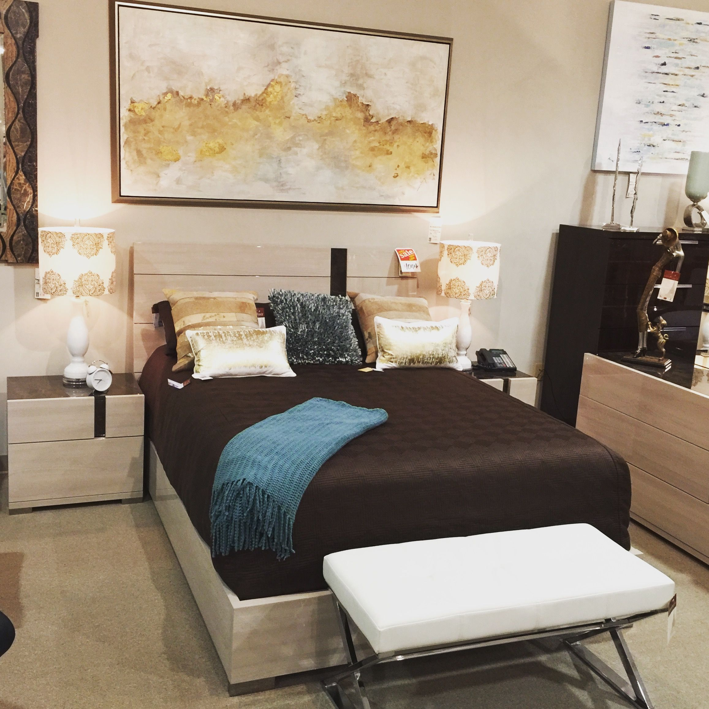 Teodora Bedroom Scandinavia Inc. Metairie New Orleans Louisiana Contemporary  Modern Furniture