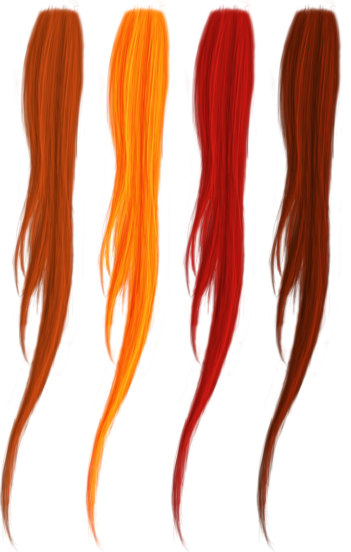 Shades Of Red Hair Png S By Thy Darkest Hour On Deviantart Shades Of Red Hair Hair Png Shades Of Red