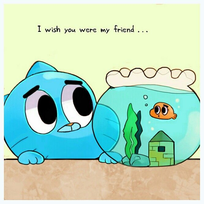 Amazing Cartoon: Amazing World Of Gumball!!. Before The Amazing It Was A