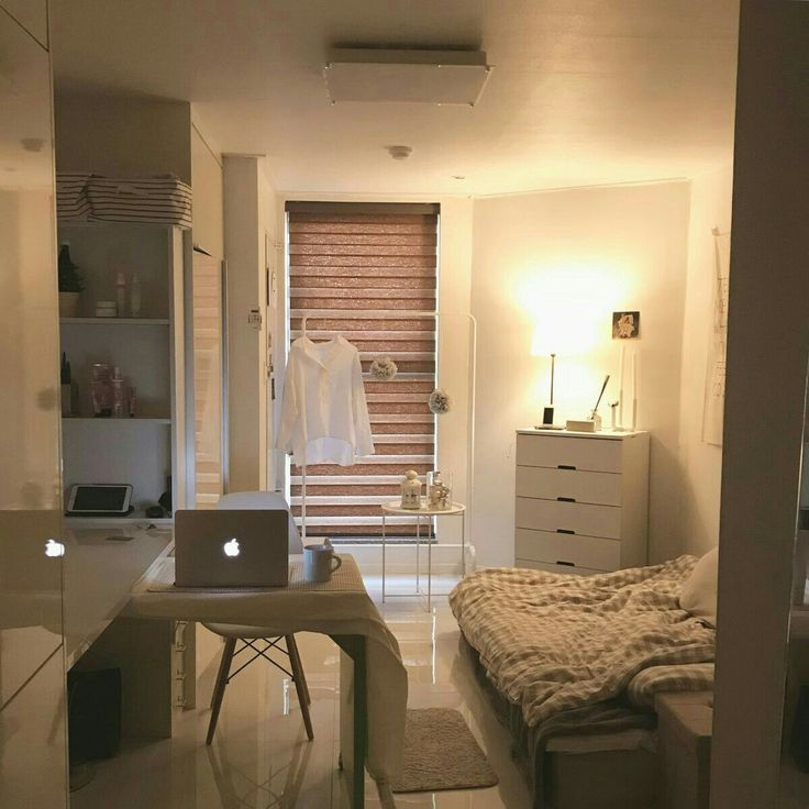 6 Creative Tips On How To Make A Small Bedroom Look Larger With Images Bedroom Interior Aesthetic Bedroom Home Bedroom