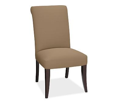 Pb Comfort Roll Upholstered Dining Side Chair Premium