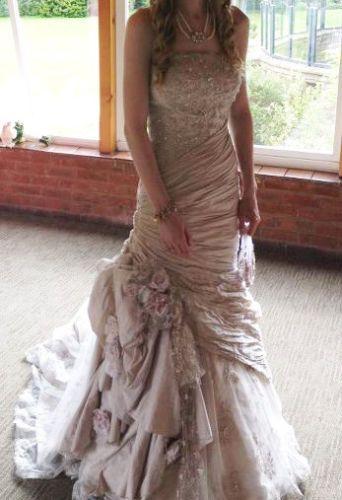 8c17002ebd4 Ian Stuart Chevallier Wedding Dress UK size 8