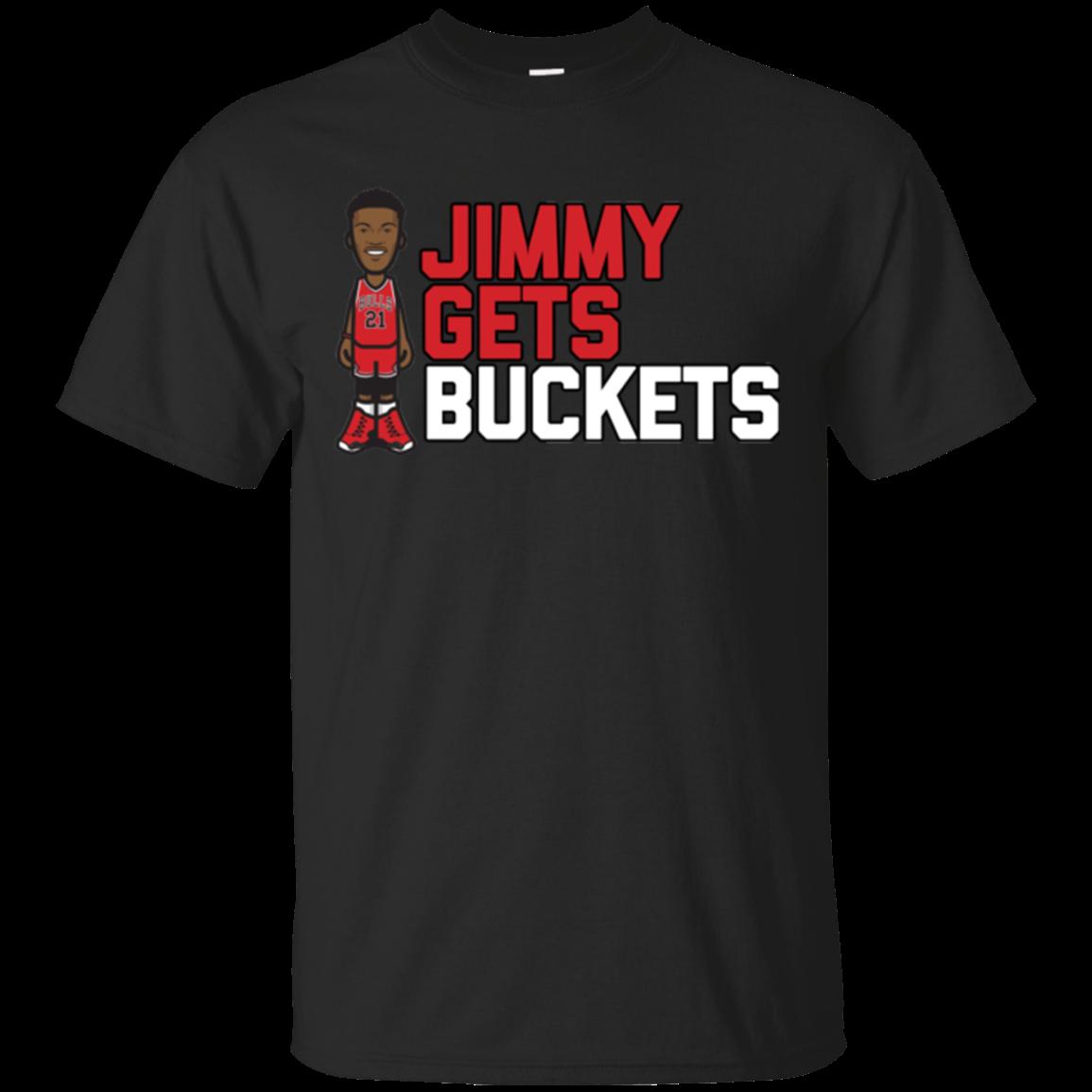 Jimmy Butler Jimmy Gets Buckets XL Black Tshirt Hoodie