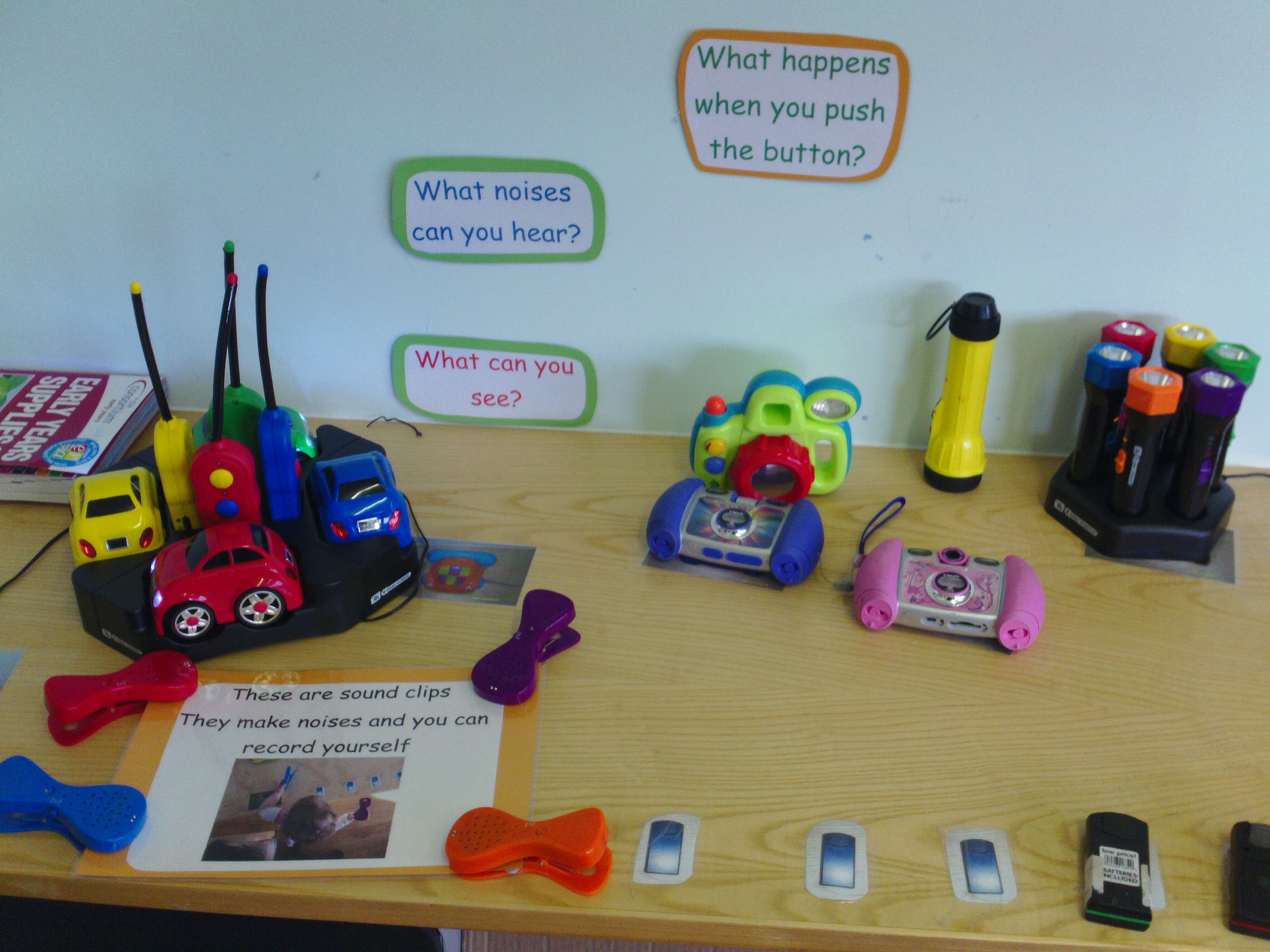 ICT exploration table at Dolphins Kingston.   Eyfs ...