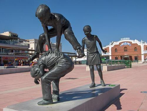 Castellon De La Plana Spain Wolpy Outdoor Artwork Sculpture