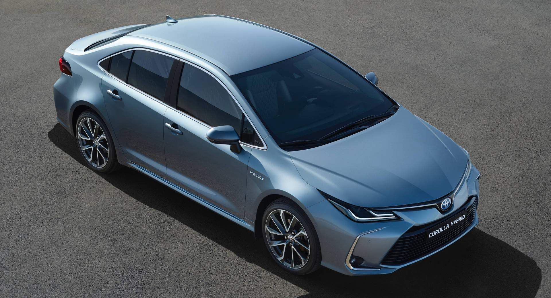 Review Toyota Corolla Sedan Hybrid 2019 Review And Images Feels Free To Follow Us Di 2020