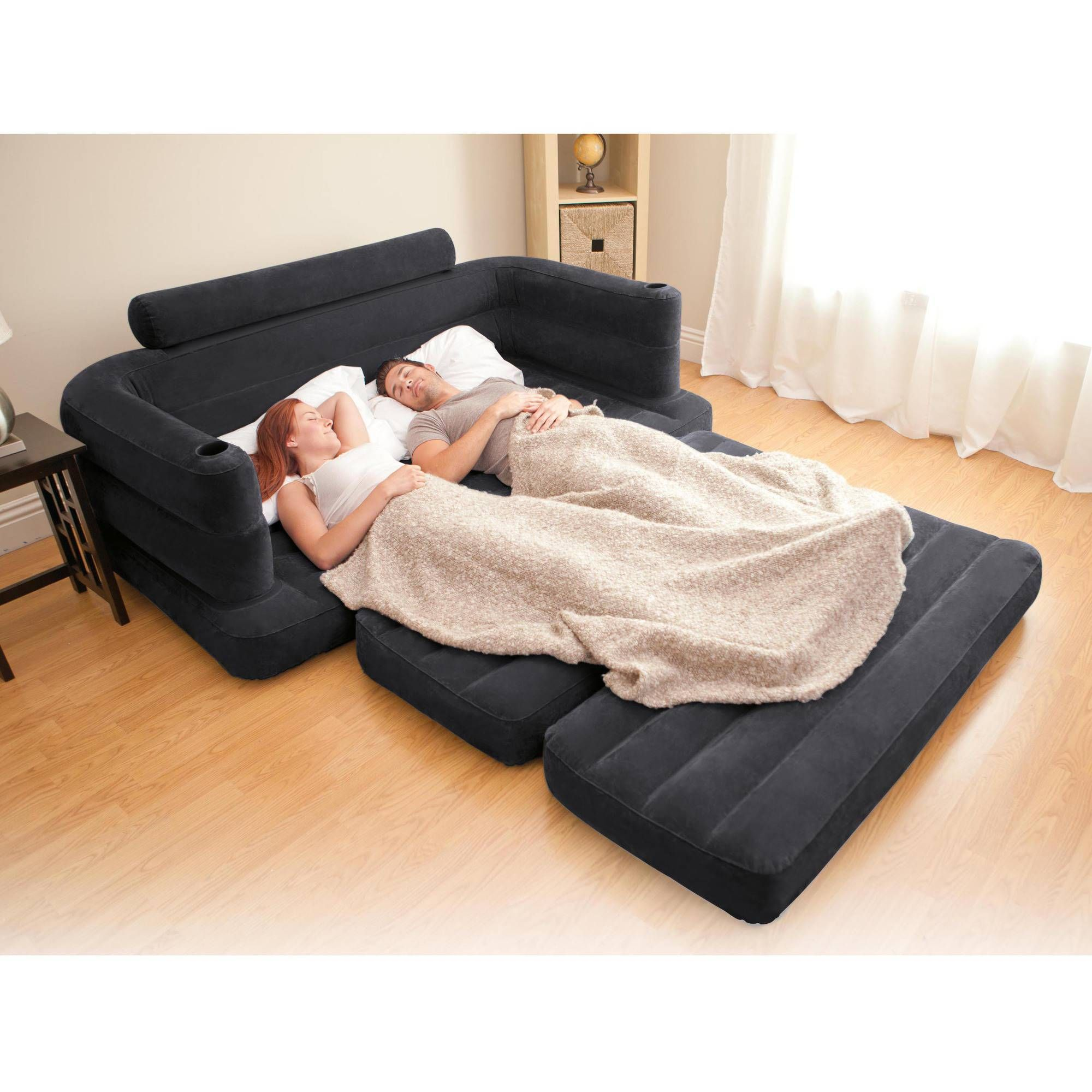 Inflatable foldable sofa with multi functional you can put it in