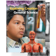 Exploring Creation with General Science 2nd Ed. 2-Book Set Best used for 7th grade but can be used for 8th