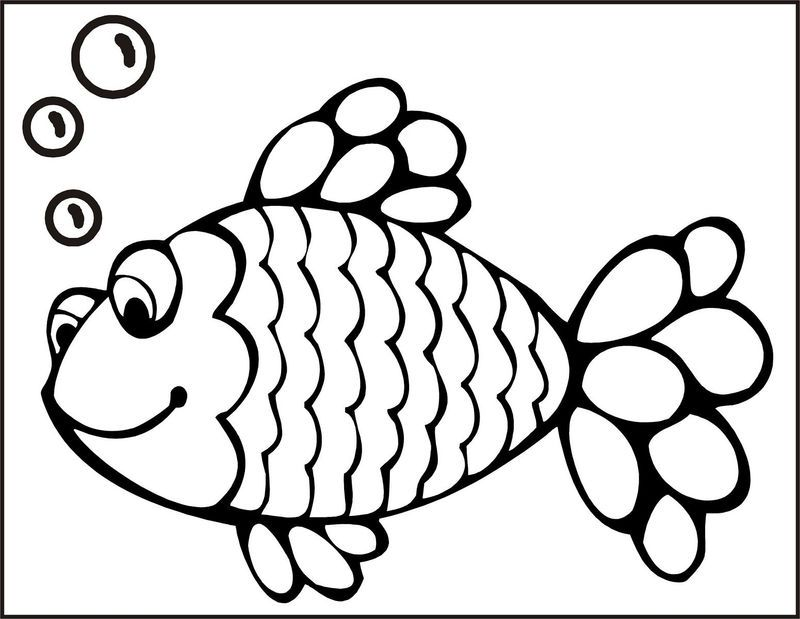 Fish Color Pages Rainbow Fish Fish Coloring Page Rainbow Fish Coloring Page Cute Coloring Pages