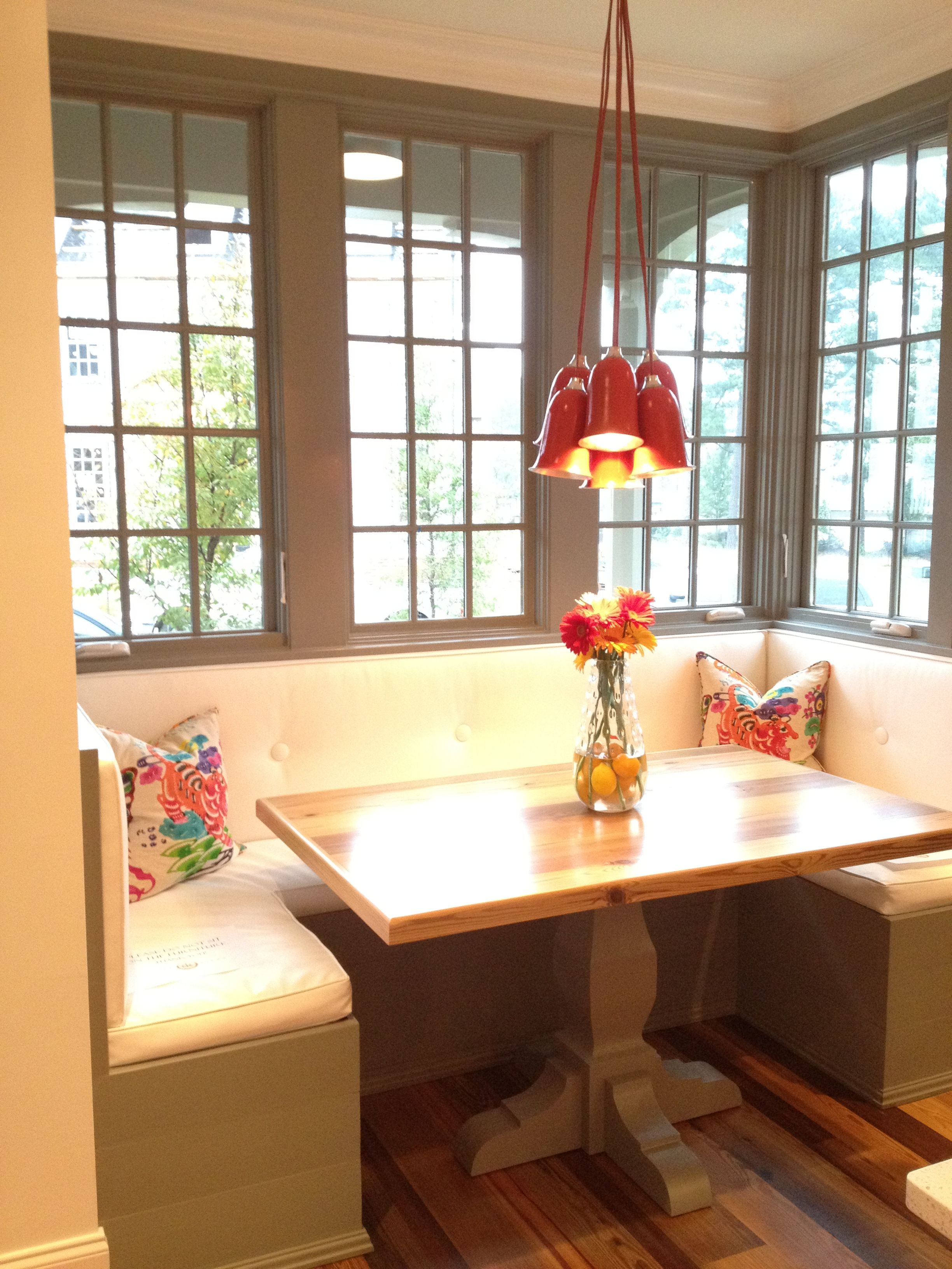 easy to build breakfast nook in kitchen with faux windows on wall breakfast nook home decor on kitchen nook id=29868