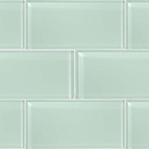 Ocean Spray Gl Subway Tile For Backsplash Baths