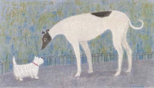 'Meeting in the Park' by Emma McClure (B098d)
