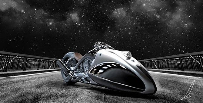 The BMW Apollo Streamliner is a heart-stopping bike concept