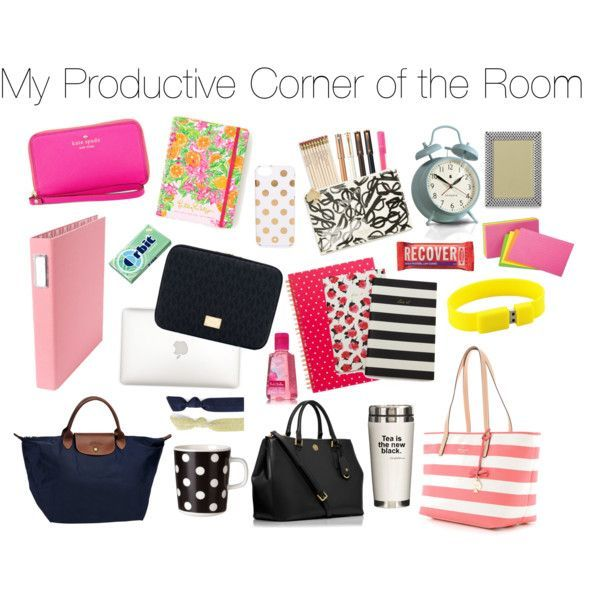 Dorm Inspiration: Desk Essentials | School essentials, College ...