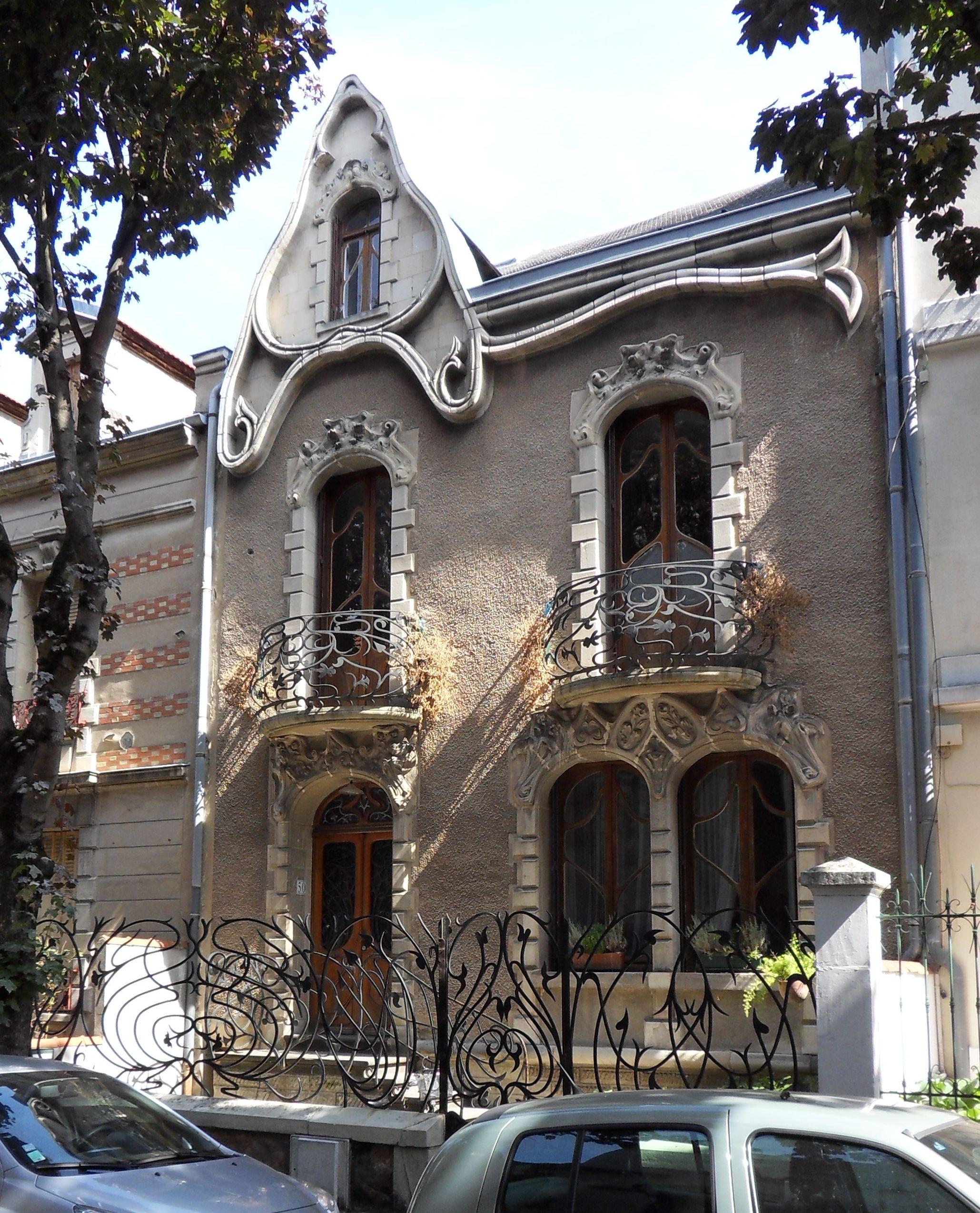 Maison art nouvea… | Art Nouveau/Jugendstil/Secessionist/Wiener
