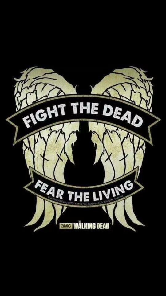 fear the living,THE WALKING DEAD,Apocalypse,Vinyl Decals Zombies,Fight the dead