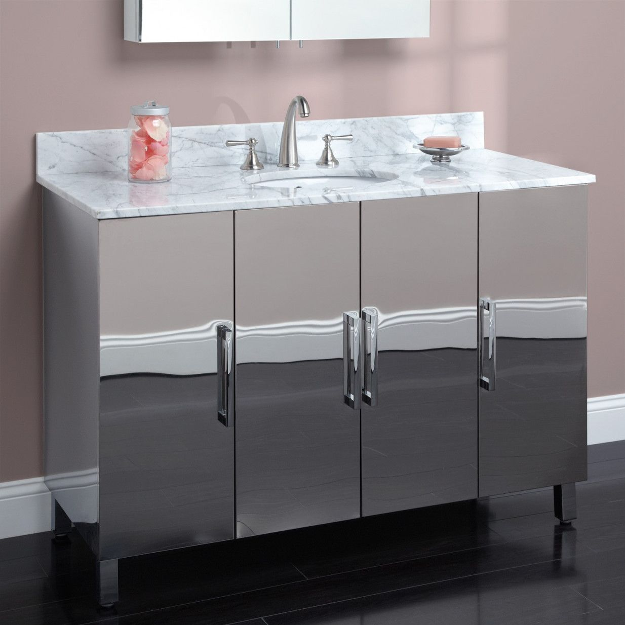 70+ Stainless Bathroom Cabinet - What is the Best Interior Paint ...