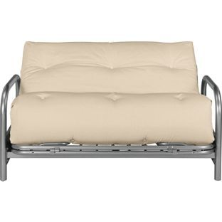 Colourmatch Mexico Futon Sofa Bed With Mattress Cream At Argos Co Uk Visit To Online For Beds Chairbeds And Futons