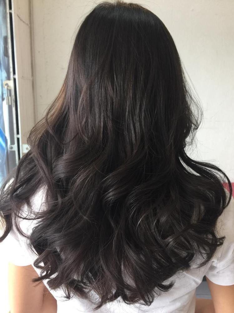 Wavy Perm For Hair Ends Permed Hairstyles Long Hair Styles Long Hair Perm